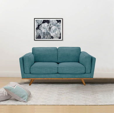 York Sofa 2 Seater Teal - Factory To Home - Furniture