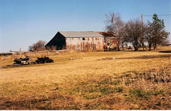 The original barn, we guess it was built in the early 1900's with an addition added in the 1960s.
