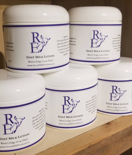 River's Edge Goat Milk Lotion