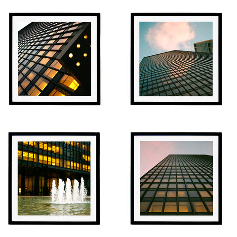 Seagram Squares, Set of 4