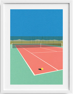 Tennis Court in The Desert - M/W