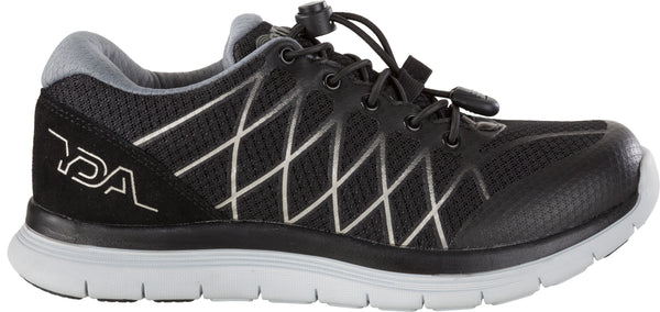 YDA Womens Trainer - Black/Silver