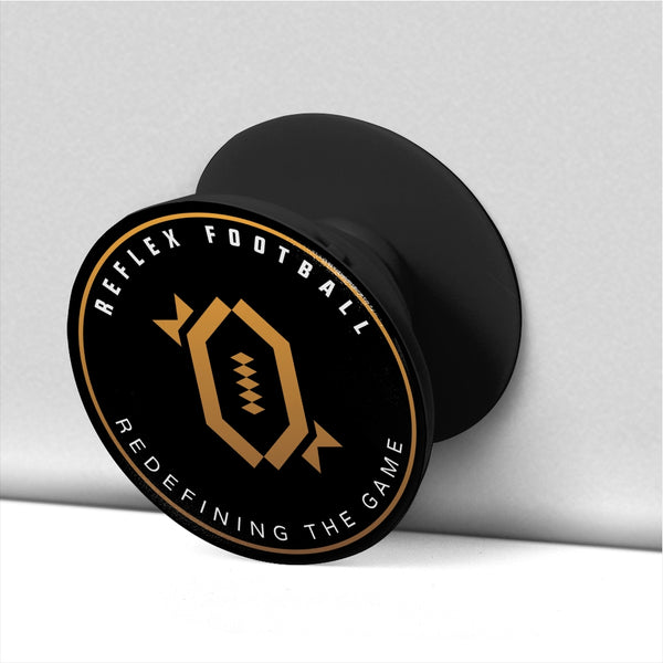 RFB Classic Pop Socket (Black/Gold)
