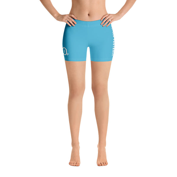 RFB Essentials Cotton Candy Spandex Shorts (Blue)