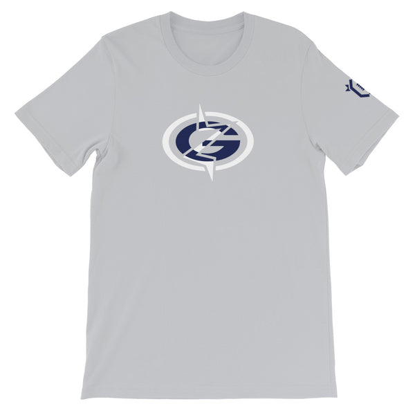 Grinderz Pro X Classic T-Shirt (Silver)