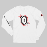 RFB Classic Red Trim Long Sleeve Shirt (White)