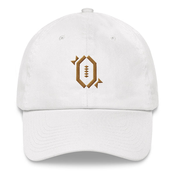 RFB Limited Dad Hat (White & Gold)