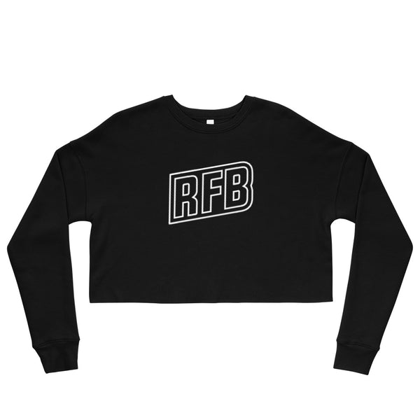 RFB Hollow Croptop Sweatshirt (Black)