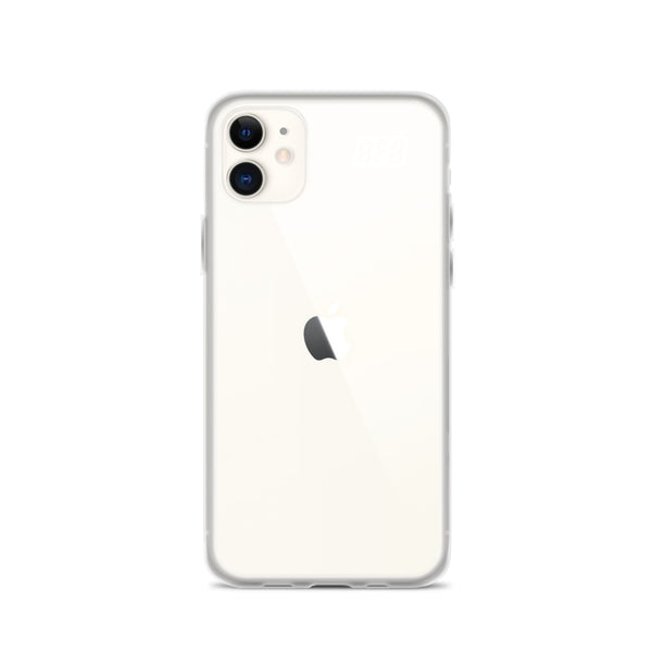 RFB See-Through iPhone Case (White)