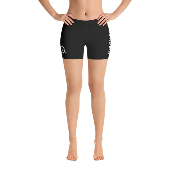 RFB Essentials Spandex Shorts (Black/White)