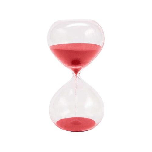 30 Minute Red Sand timer by J.C. and Rollie