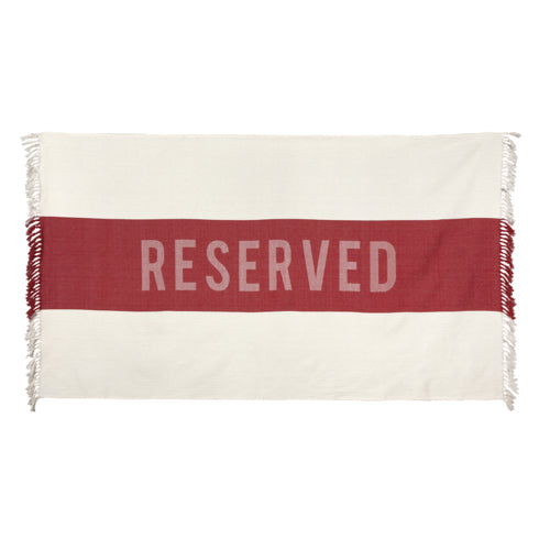 SIR | MADAM - Reserved Beach Towel