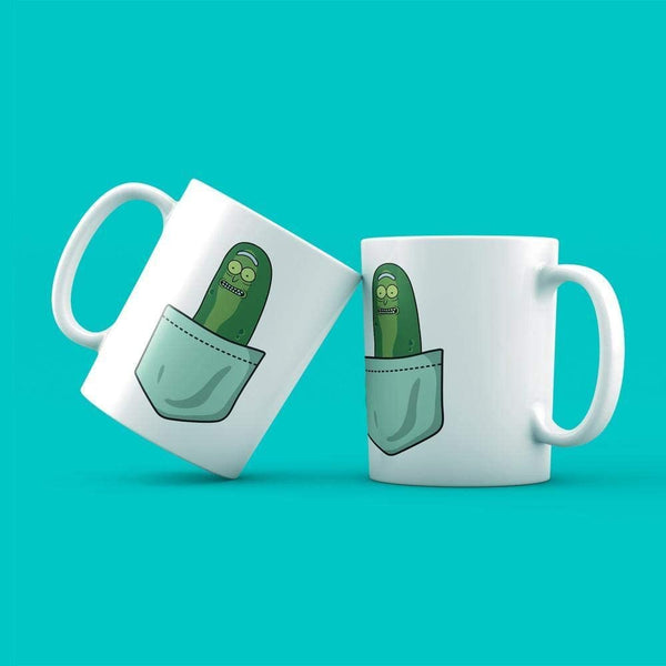 Cadet Blue Tazza Pickle Rick - Mug Simpatica sul Cartoon Rick & Morty - Choose ur Color Cuc shop