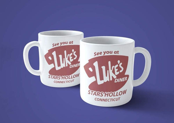 Dim Gray Tazza Ci Vediamo da Luke - Mug del Ispirata alla Serie TV gilmor - Choose ur Color Cuc shop