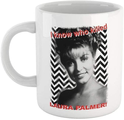 Tazza So Chi ha Ucciso Laura Palmer - Mug Twin Peaks - Choose ur Color - CUC #chooseurcolor