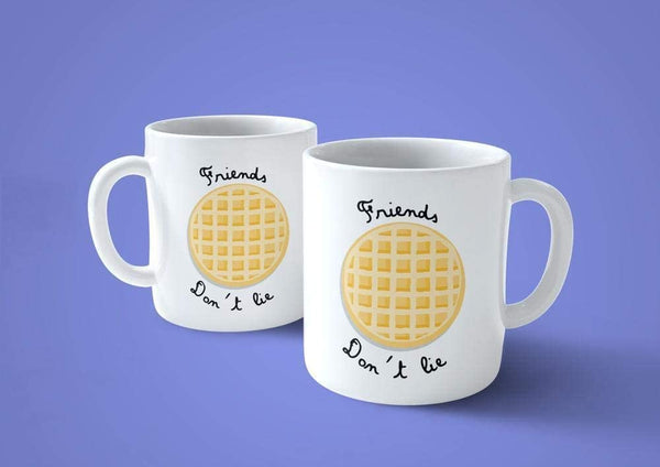 Tan Tazza Waffle Eleven - Stranger Biscotto Things -Mug sulla Serie TV Cult - Choose ur Color Cuc shop
