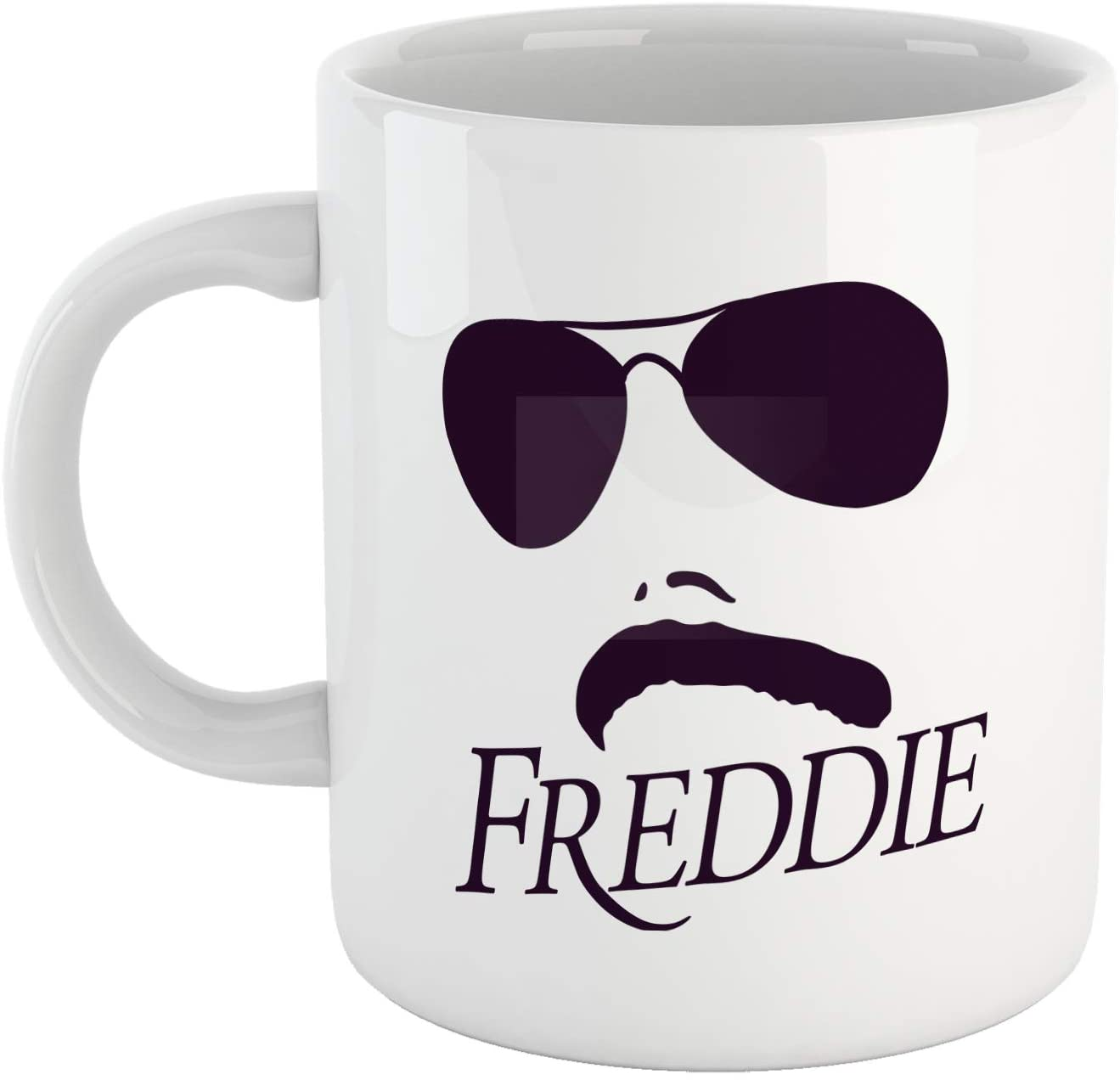 Tazza Freddie Baffo e Occhiali - Choose ur Color