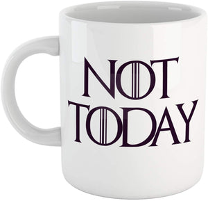 Lavender Tazza Arya Stark Got Game of Thrones Not Today Il Trono - Film Choose ur Color Cuc shop