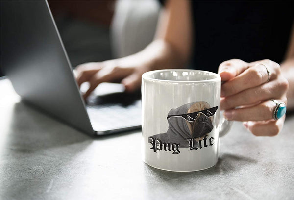 Tazza Pug Life - Mug sul Carlino - Choose Ur Color - CUC #chooseurcolor