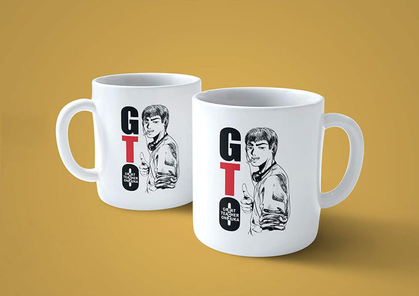 Tazza GTO Ok - Mug Ispirata all' Anime Great Teacher Onizuka - Choose Ur Color - CUC #chooseurcolor