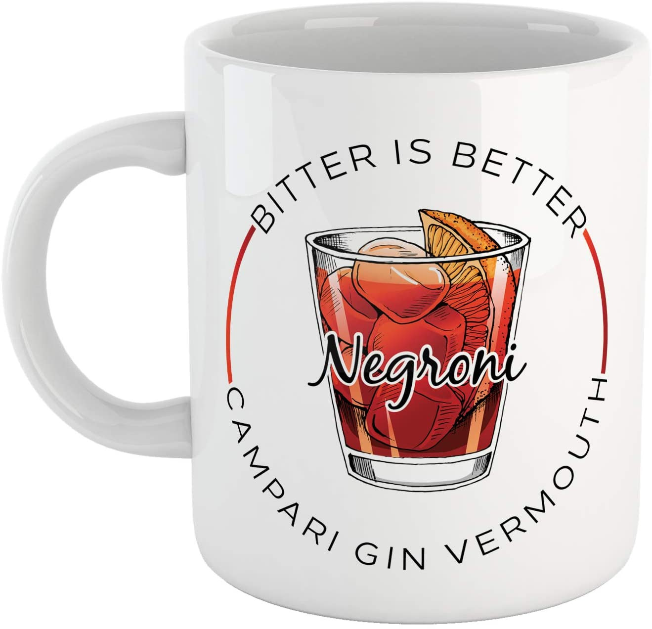 Tazza Spritz Negroni Bitter Campari - Hangover - Social Choose ur Color