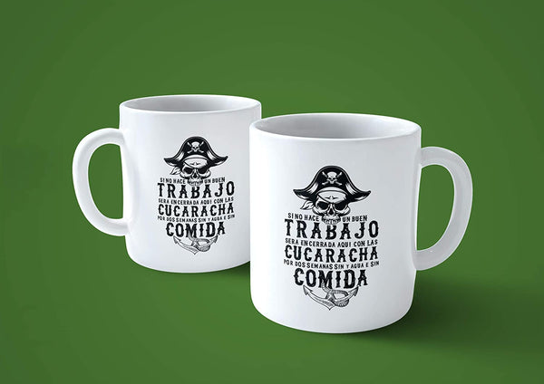 Tazza Goonies Frase in Spagnolo del Film Anni 80 - Choose Ur Color - CUC #chooseurcolor