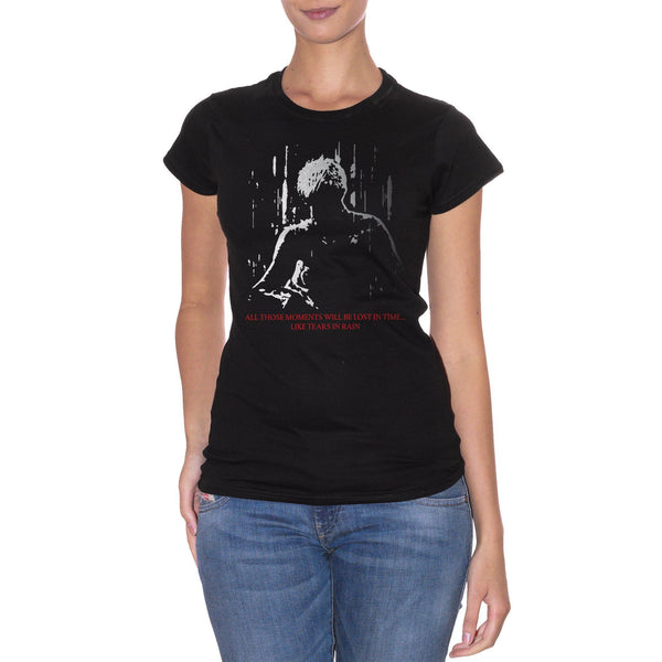 T-Shirt Blade Runner Movie - Tears In Rain Monologue - FILM - CUC #chooseurcolor