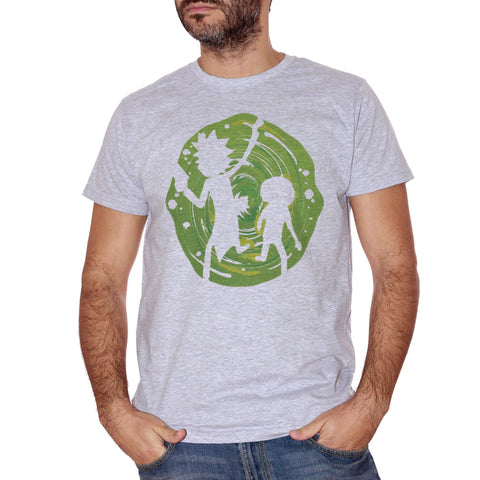 T-Shirt Rick E Morty Vortice - FILM - CUC #chooseurcolor