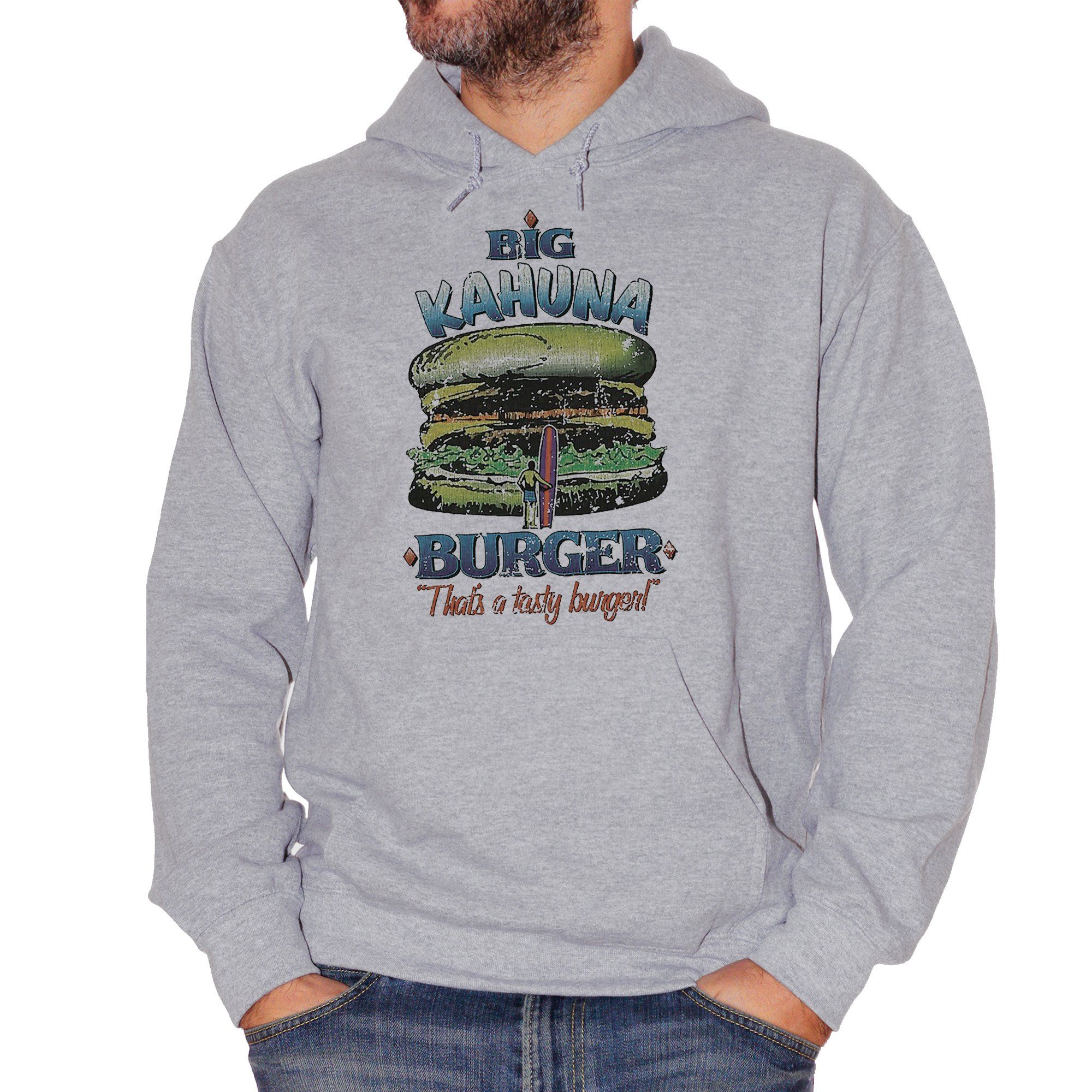 Dark Gray Felpa Big Kahuna Burger Pulp Fiction - FILM CucShop
