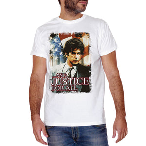 Rosy Brown T-Shirt Justice For All Movie Al Pacino - FILM CucShop