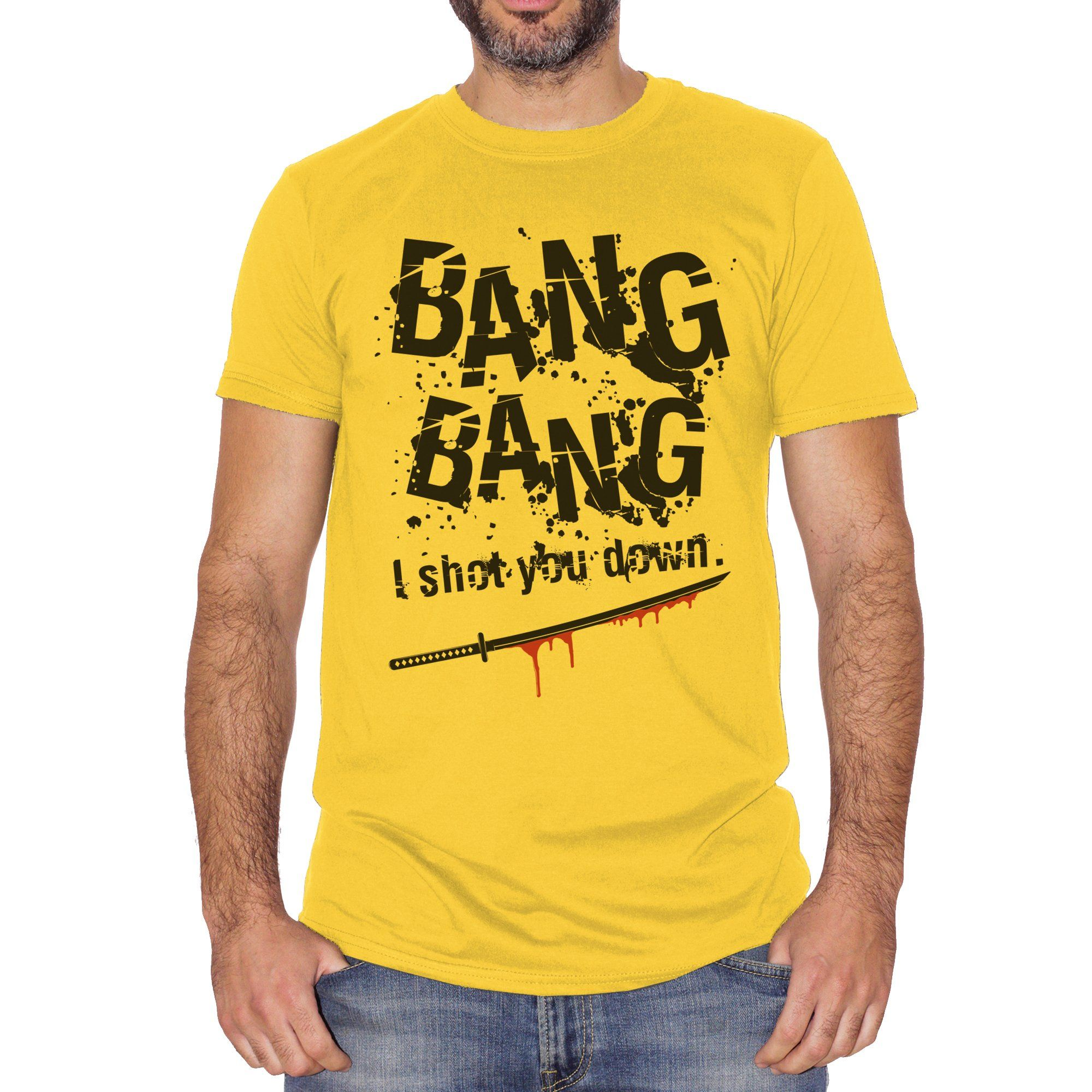 T-Shirt Kill Bill Bang Bang Song Soundtrack - FILM - CUC #chooseurcolor