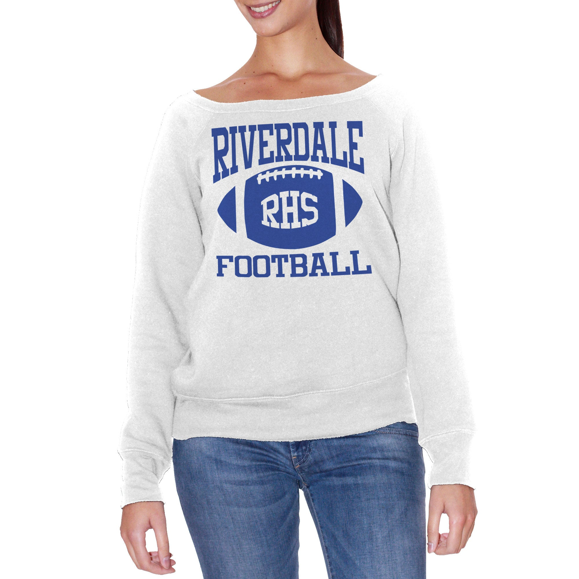 FELPA FASHION DONNA RIVERDALE-FOOTBALL