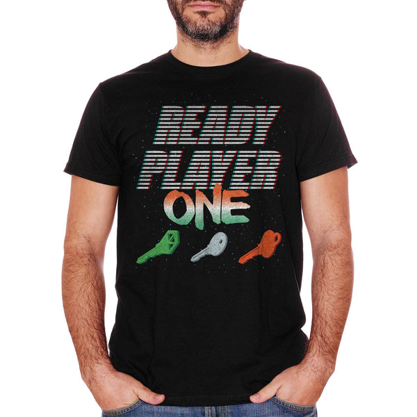 T-Shirt Ready-Player-One-Keys-3D - FILM