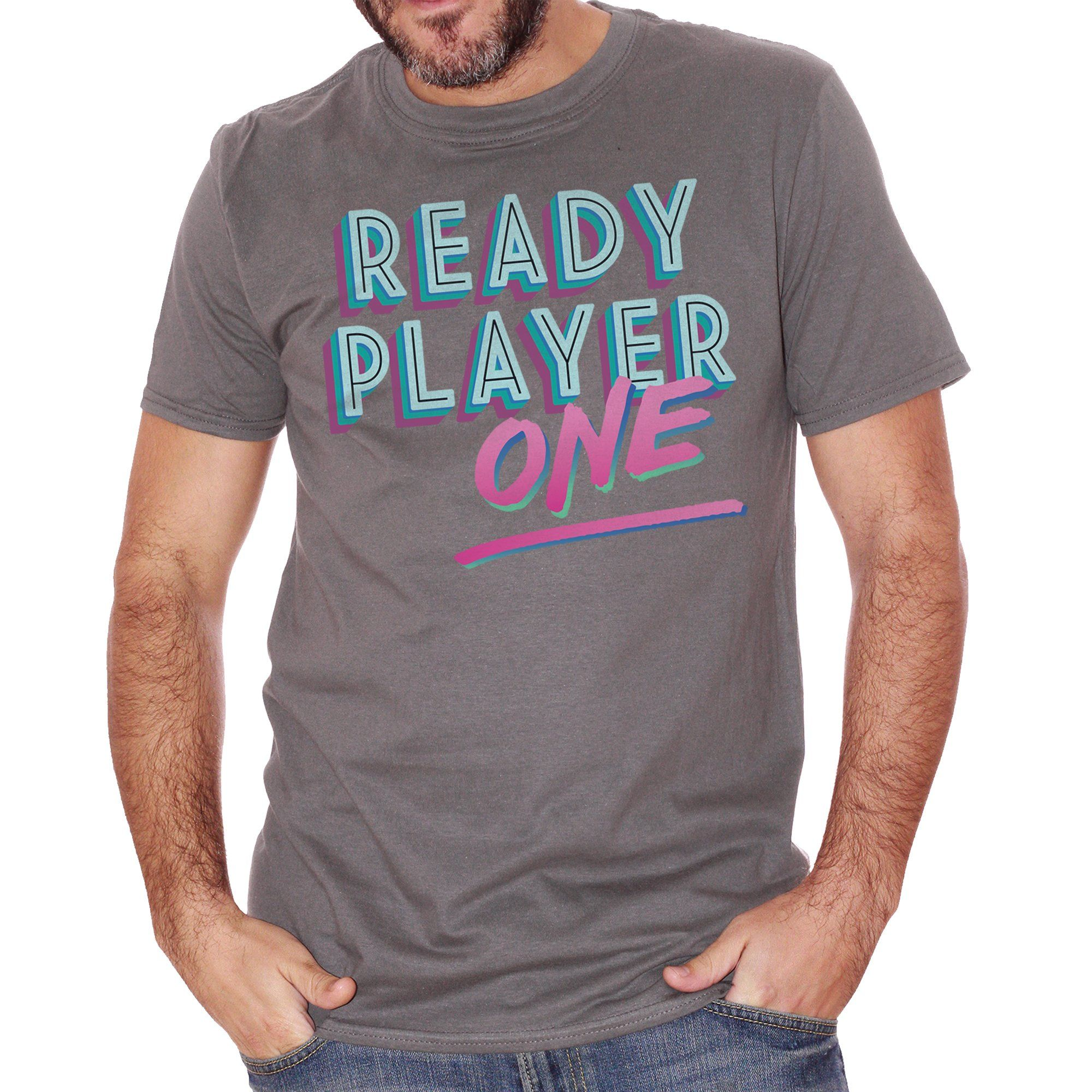 T-Shirt Ready-Player-One - FILM - CUC #chooseurcolor