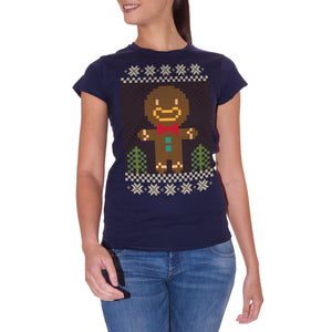T-Shirt Christmas-Natale-Biscotto-Omino-Pan-Di-Zenzero-Cookie-Man - Eventi - CUC #chooseurcolor