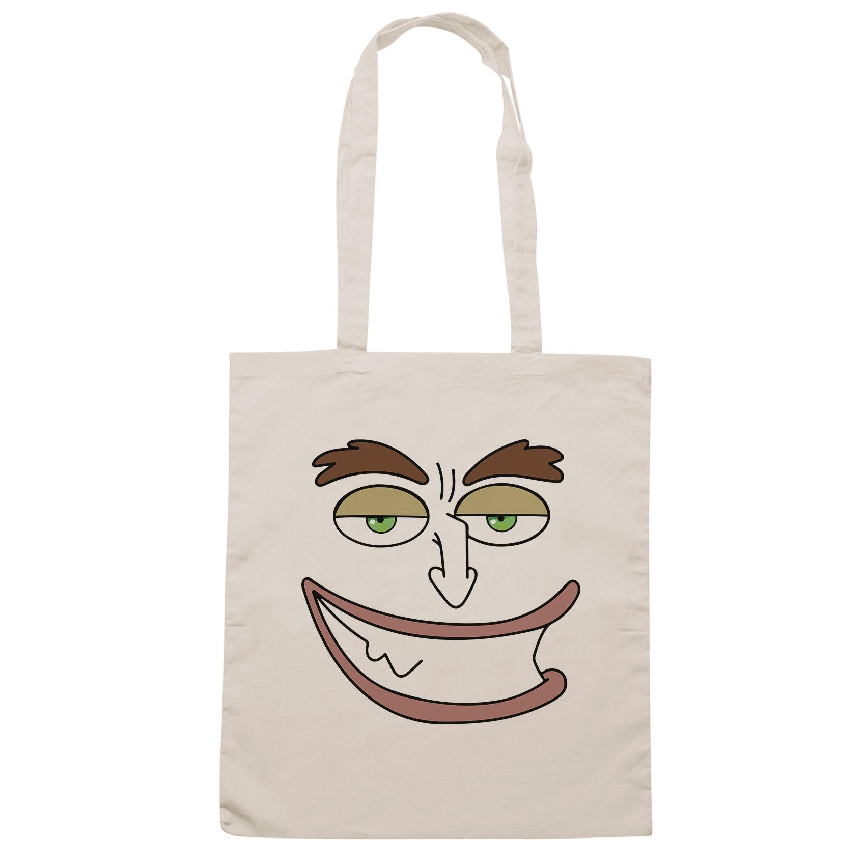 Borsa Hormone Monster Maurice Face Smile Big Mouth - Sand - FILM