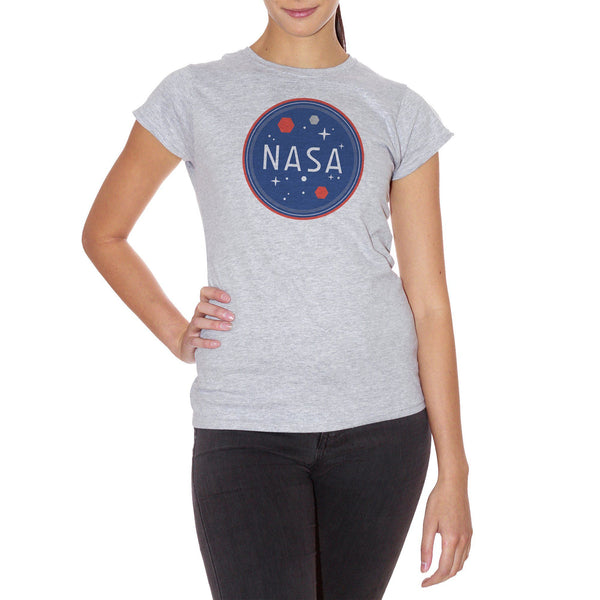 Light Gray T-Shirt Nasa - FAMOSI CucShop