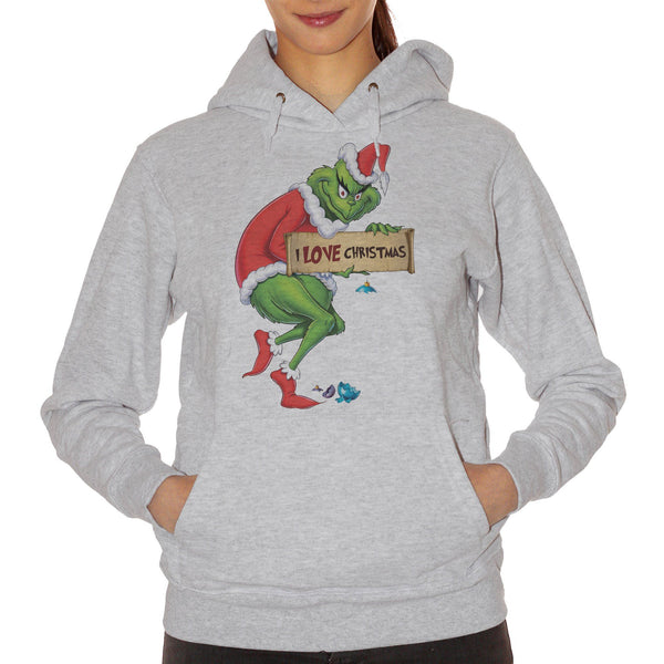 Felpa Grinch I Love Christmas - FILM - CUC #chooseurcolor