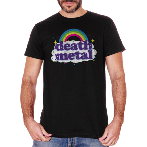 T-Shirt Death Metal Rainbow - MUSIC