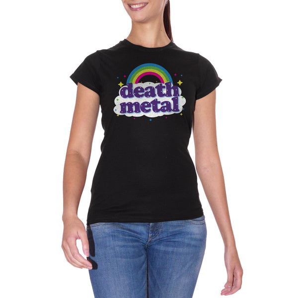 T-Shirt Death Metal Rainbow - MUSIC - CUC #chooseurcolor