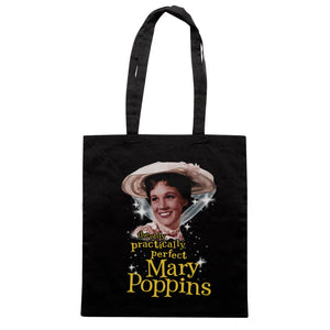 Borsa Mary Poppins Practically Perfect Vintage - Nera - FILM - CUC #chooseurcolor