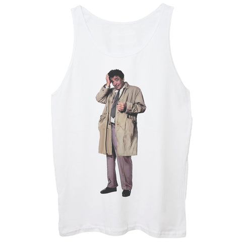 White Smoke Canotta Columbo Tenente Colombo - FILM CucShop