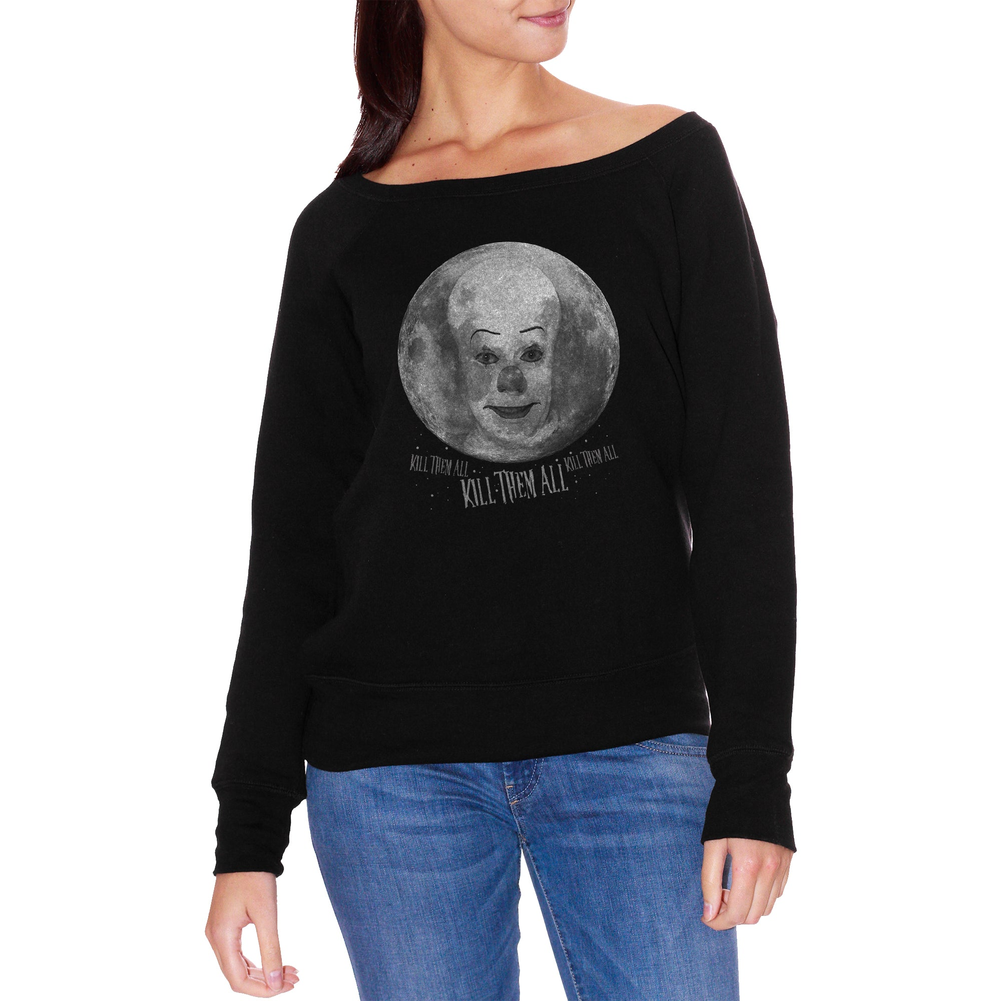FELPA FASHION DONNA it-pennywise-fullmoon