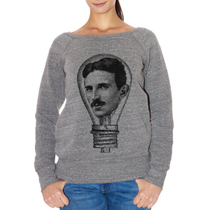 FELPA FASHION DONNA nikola-tesla-electric-lamp