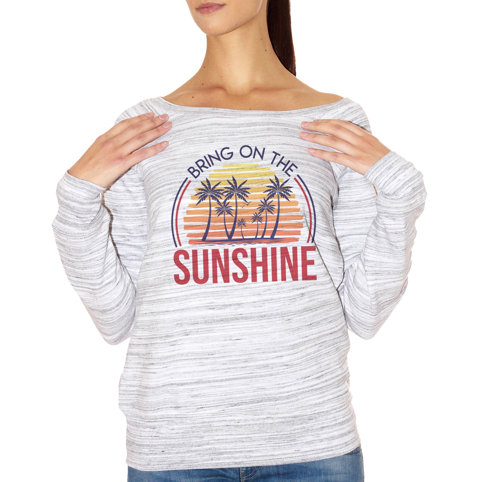 FELPA FASHION DONNA bring-on-the-sunshine-summer-sunset
