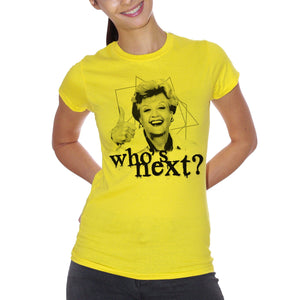 T-Shirt Signora Fletcher Who's Next- FILM Choose ur color - CUC #chooseurcolor