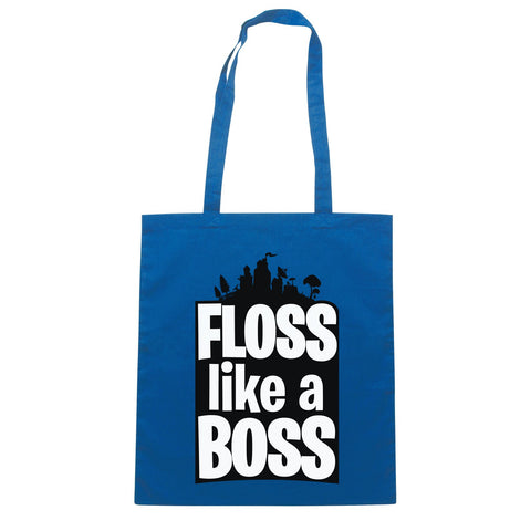 Borsa Floss Like A Boss Flossin Dance - Blu Royal - SOCIAL