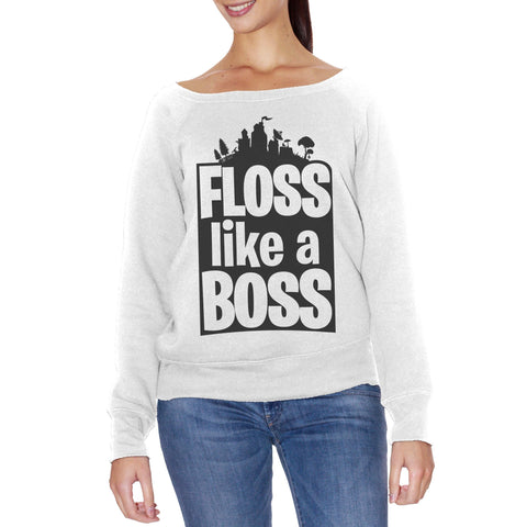 FELPA FASHION DONNA floss-like-a-boss-flossin-dance - CUC #chooseurcolor