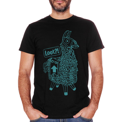 T-Shirt Llama Loot Play Game Videogame - GAMES - CUC #chooseurcolor