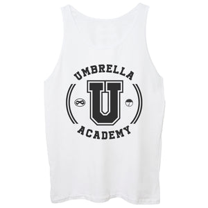 White Smoke Canotta Umbrella Academy Book University Serie Comic - FILM CucShop